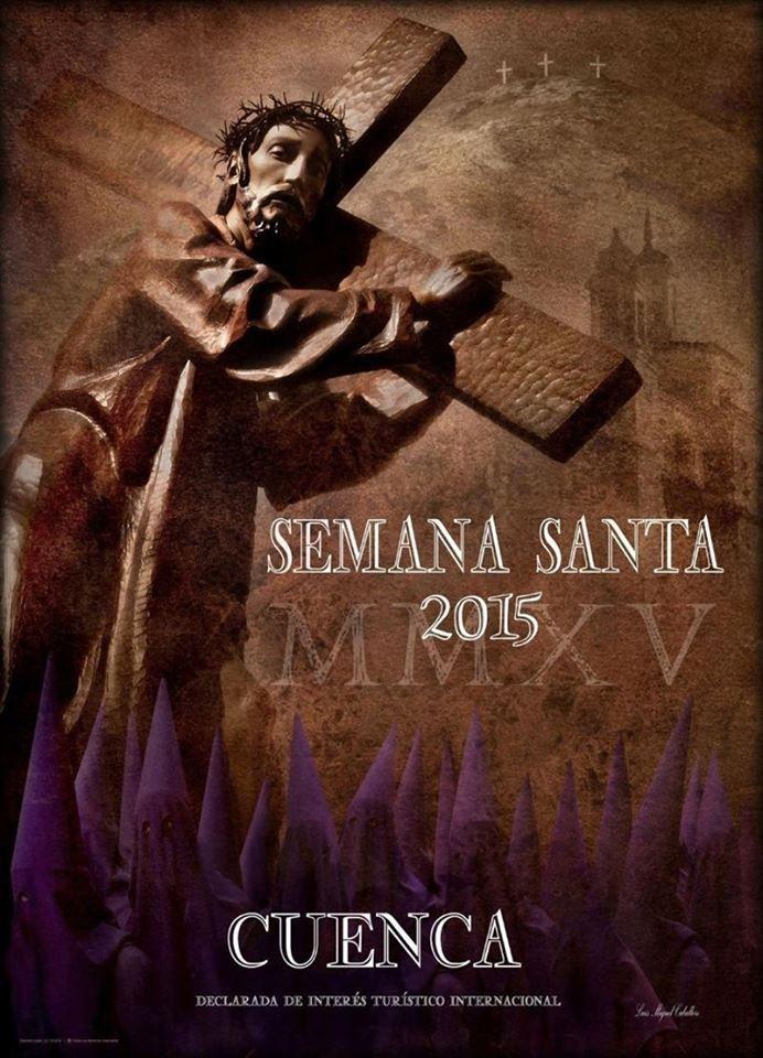 Cartel Semana Santa Cuenca 2015.