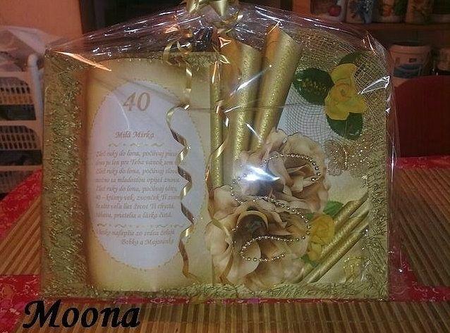 Книга открытка своими руками на юбилей, днем рождения православные