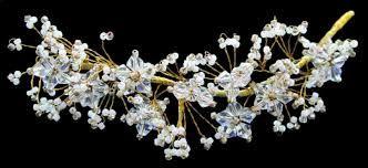 Resultado de imagen para tocados de novia de cristal