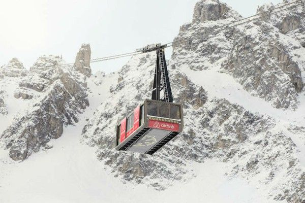 Ski Hotel luxury French Alps cable car