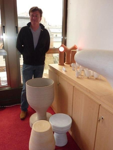 Guillaume Bardet by his creations at Fondation Bettencourt  Schueller.