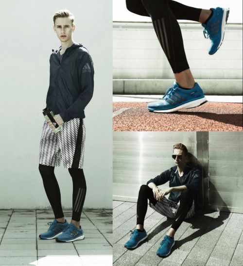 the sporty leggings looks good Adidas Energy Boost 2.0 (by Oliver Lips)