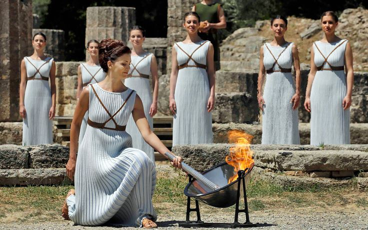 Olympic Flame to Rio - Greece Is
