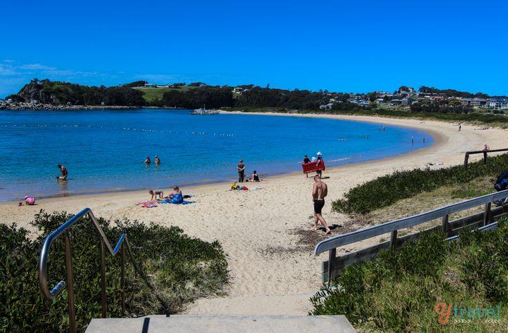 Bar Beach, Narooma, NSW, Australia