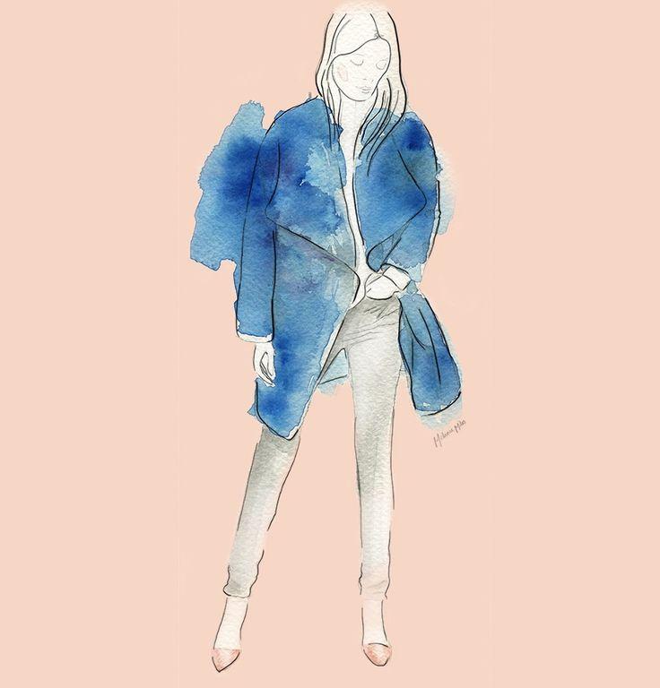 Fashion Illustration by Melanie Miles