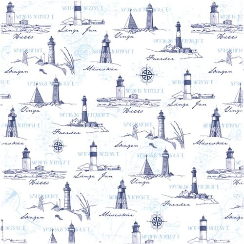"Maja Design 12x12"" Scrapbook Paper - Life by the Sea 12x12"