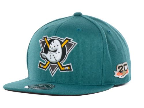 Anaheim Ducks hats  | Anaheim Ducks Mitchell and Ness NHL Mighty Ducks Collection Fitted Cap ...