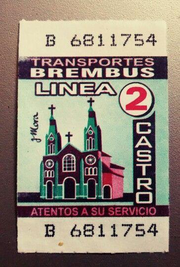 Bus ticket Castro
