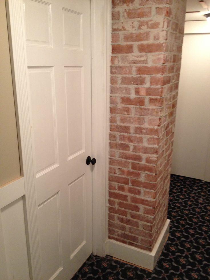 Exposed Brick Chimney Bedroom Ideas Pinterest