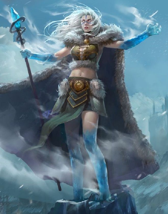 Ice Mage by Opoa