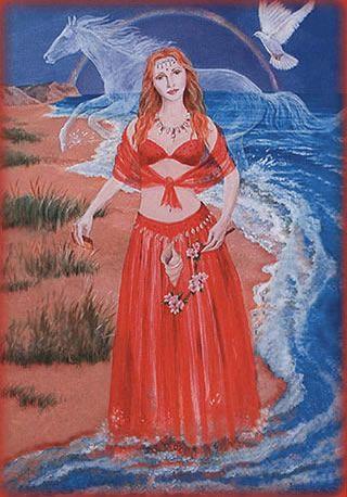 Lover Rhiannon card