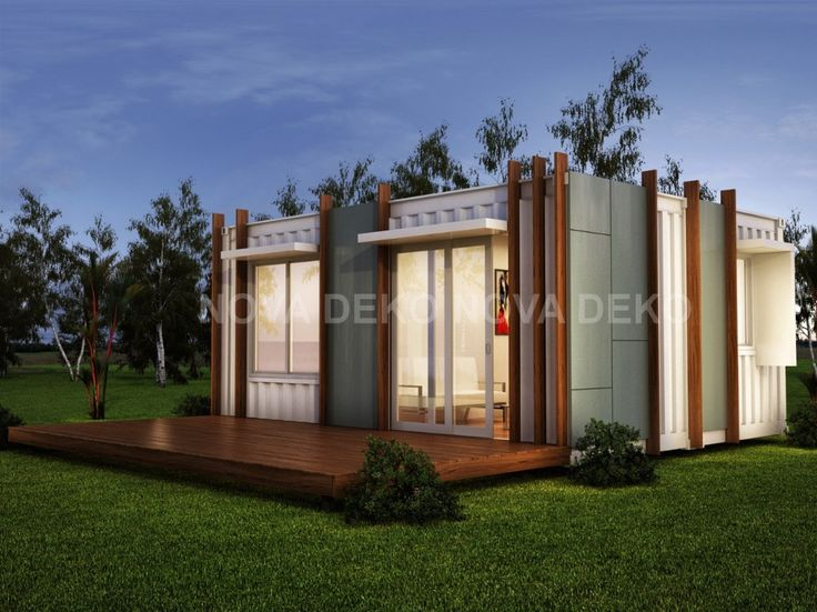 Latest Design Luxury One Room Modular Homes Granny Flat