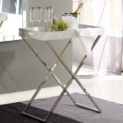 West Elm Tall Butler Tray Table | Home + Garden | Pinterest | Trays, Living  Room Styles And Silver Trays