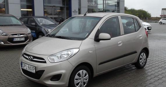 Samochód Hyundai i10 - wersja wyposażenia Comfort http://hyundai.lubin.pl/oferta/hyundai-i10-klima-gwarancja-1-rejestracja-2013-rocznik-2012/34