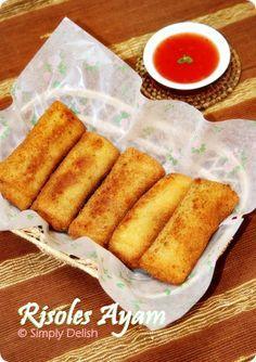 Risoles Ayam - Indonesian Snack Recipe