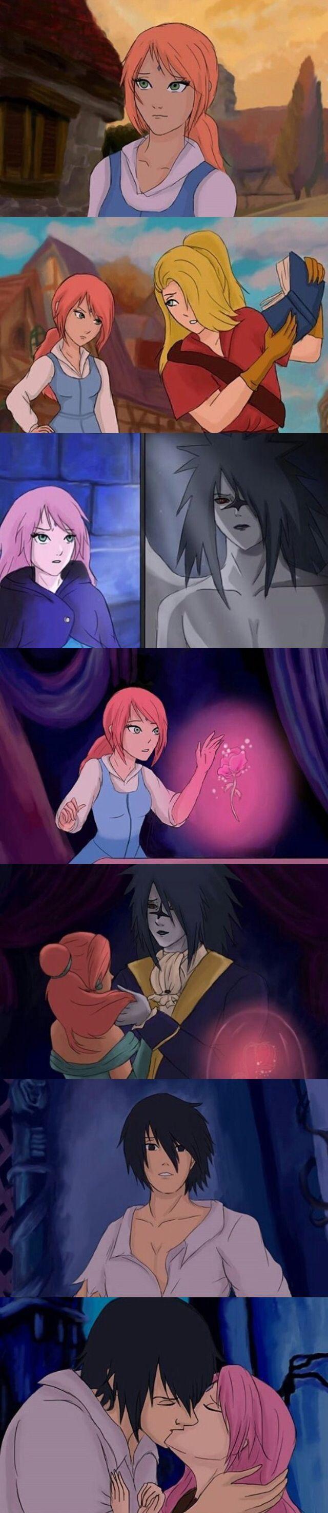 Sasusaku and Beauty and the Beast, MY FAVORITES