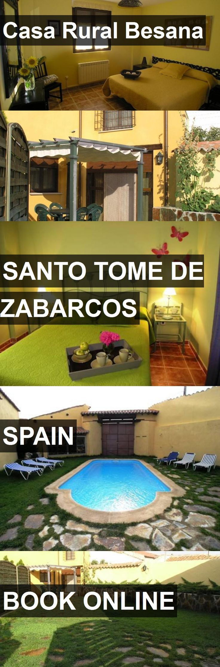 Hotel Casa Rural Besana in Santo Tome de Zabarcos, Spain. For more information, photos, reviews and best prices please follow the link. #Spain #SantoTomedeZabarcos #CasaRuralBesana #hotel #travel #vacation