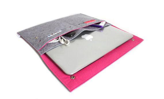 New Macbook 12/ Macbook Air 11 inch Case / Macbook Air by Bholsa