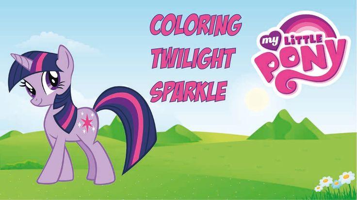 Fun Colouring My Little Pony : Twilight Sparkle (MLP)