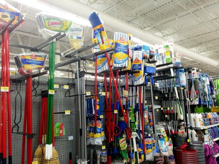 I found the promist in the mop and broom aisle near the