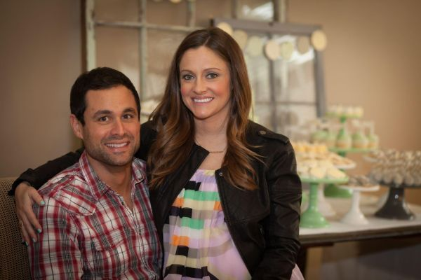 Molly and Jason Mesnick - baby shower