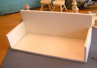 Diary of a Preppy Mom: DIY Dollhouse Furniture on the Cheap! Best tutorial and ideas yet!
