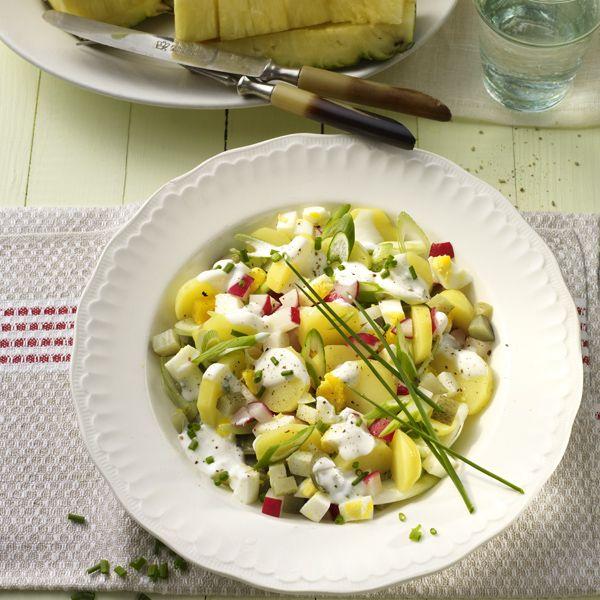WeightWatchers.fr : recette Weight Watchers - Salade de pommes de terre