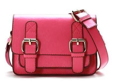 Gorgeous Stella Messenger Bag in pink online at Little Boo-Teek!