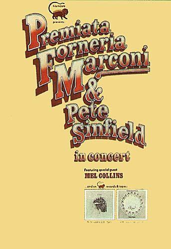 Premiata Forneria Marconi - concertposter