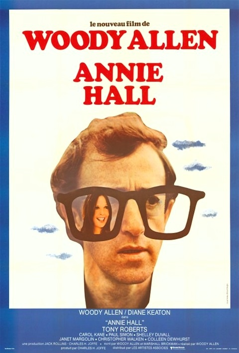 French poster for Annie Hall, 1977
