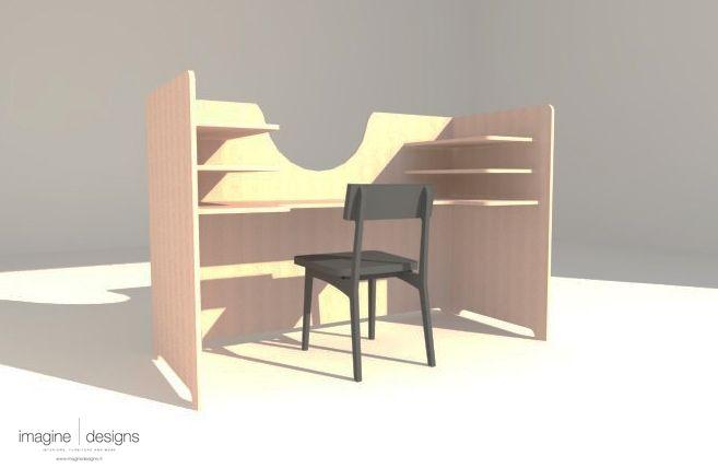 Werktafel geschikt voor Eendoostaken. Aan deze tafel is plek voor 12 Eendoostaken. www.eendoostaken.nl