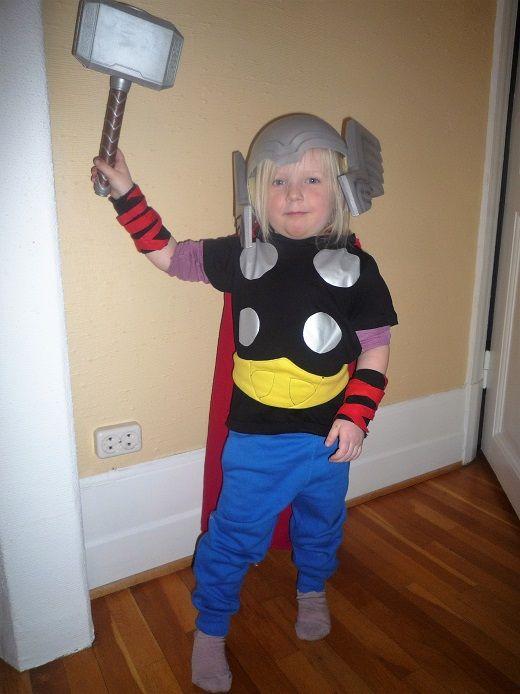 Thor - childrens costume - Kara Creations