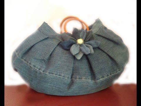 CROCHET How to #Crochet Puff Bean Stitch Handbag Purse #TUTORIAL #271 - YouTube