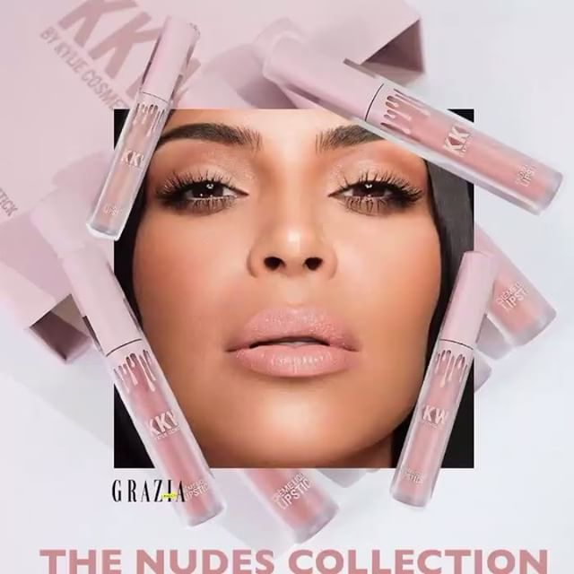 El nuevo #KylieLipKit de @kyliecosmetics es en colaboración con @kimkardashian!Descubre los #nudes en nuestro link in Bio #news #GraziaBellezza  via GRAZIA MEXICO MAGAZINE OFFICIAL INSTAGRAM - Fashion Campaigns  Haute Couture  Advertising  Editorial Photography  Magazine Cover Designs  Supermodels  Runway Models