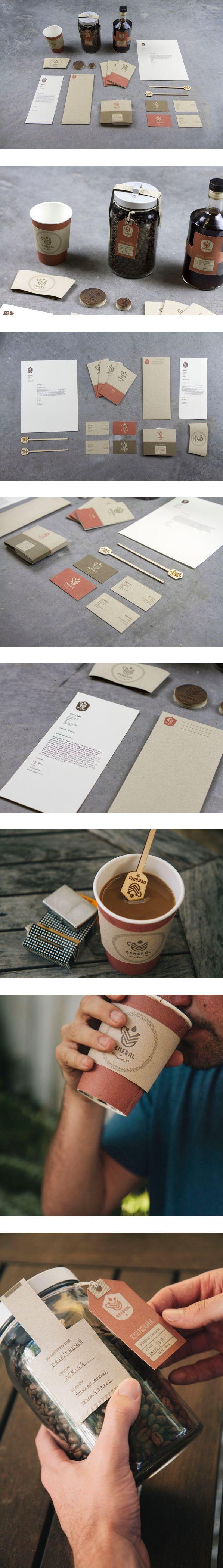 General Cafe by Clarke Harris. #restaurantgraphics #typography