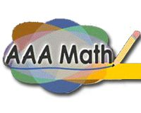 Aaa Math Customized By Grade Level And Topic Aaa Math Features Explanations Of Various Mathematical Topics Practi Math Educational Technology Teaching Math