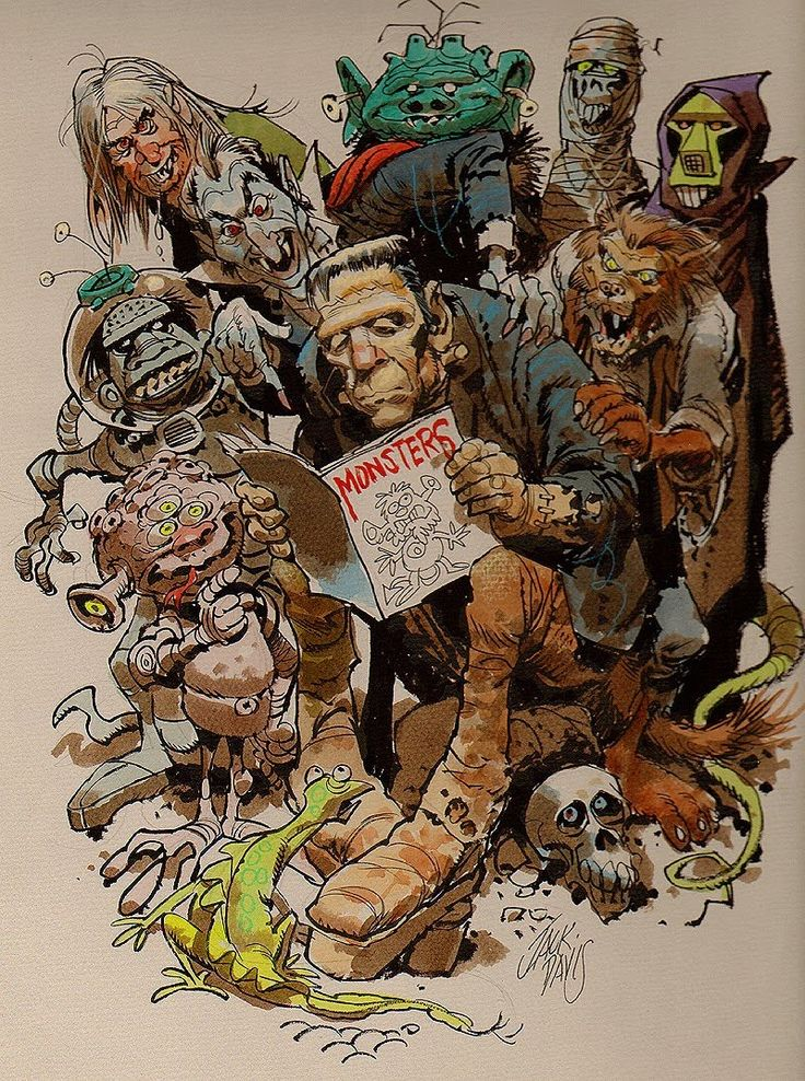 Monsters by Jack Davis