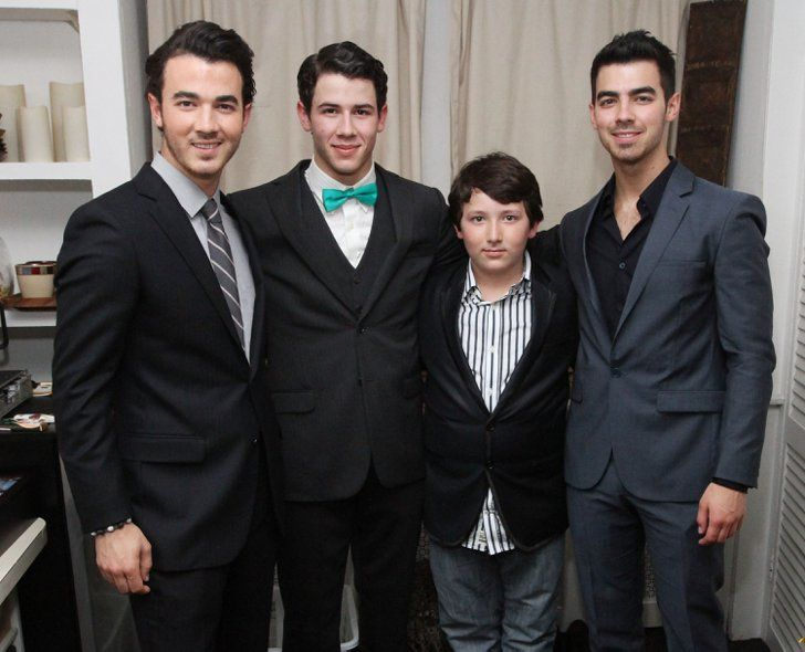 Pin for Later: Celebrity Siblings You Probably Didn't Know About Kevin, Joe, Nick, and Frankie Jonas