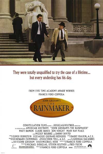 The Rainmaker 1997 film
