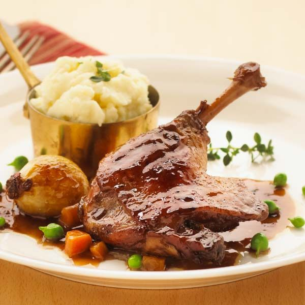 Pinot Braised Duck Leg Recipe – Duck Legs ›› Luv-a-Duck – Australia's Favourite Duck