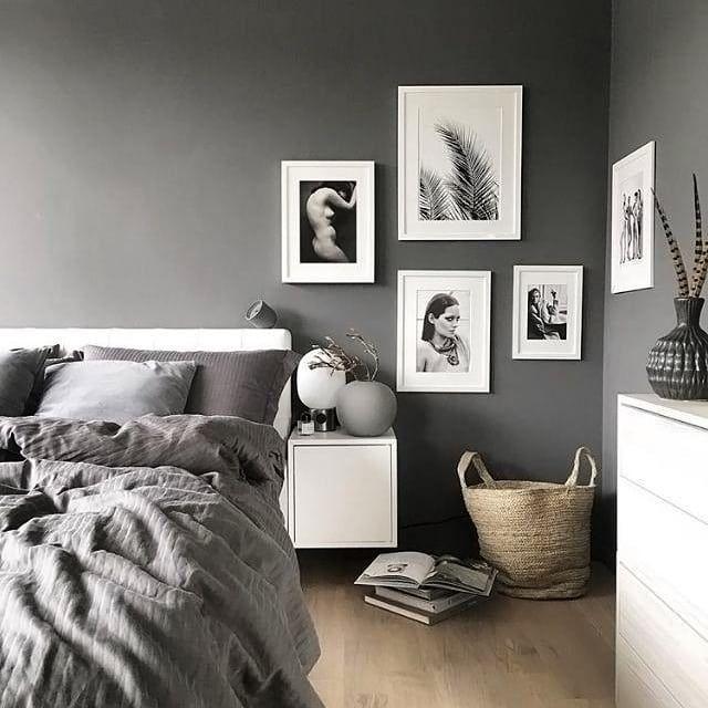 Merveilleux Love The Contrast Of The White And Dark Grey #interiordesign #interiors  #design #bright #white #inspo #inspiration #love #decor #style #mood #grey  #love ...