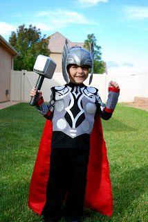 Thor costume tutorial