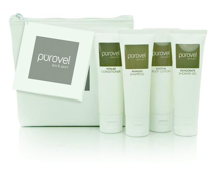 Our Pürovel Spa & Sport in room amenities www.purovel.com