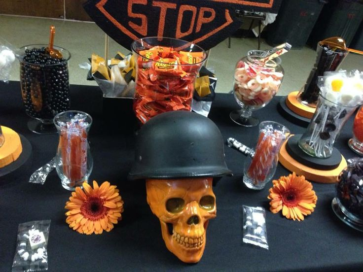 9 Best Images About Harley Davidson Party On Pinterest