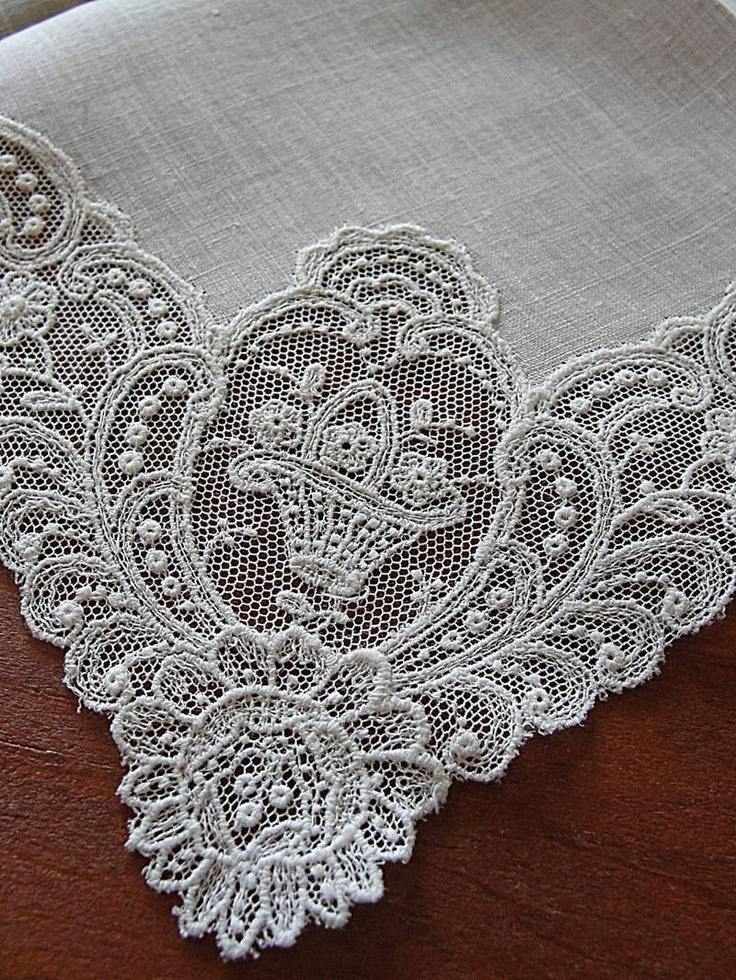 Exceptional Antique Schiffli Embroidery Lace Bridal Handkerchief   eBay Vintageblessings Bridal handkerchiefs make wonderful gifts for the bride to be to love and then hand down to the next generation. Give as a gift for a new baby, to remember you when they walk down the aisle. A wonderful tradition to start if your family doesn't have one!