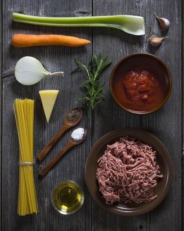Спагетти с соусом болоньезе. спагетти, фарш, паста, ужин, длиннопост