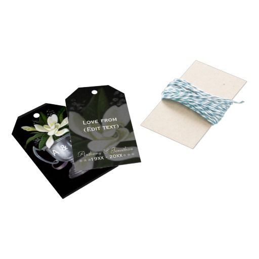 25th Silver Wedding Anniversary Commemorative Pack Of Gift Tags