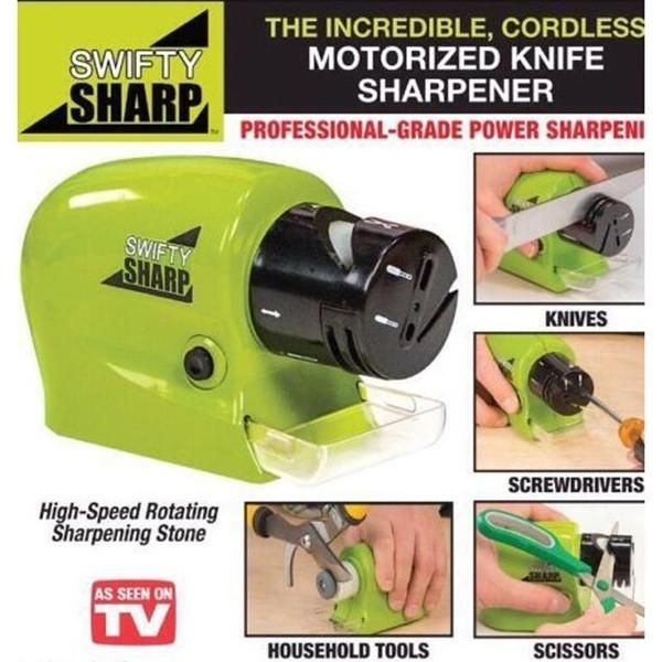 [Product name]: electric knife sharpener, use the number 5 battery 4pcs 6V [material]: PP [product size]: 14*8.7*6.5cm Single net weight: 186g    #厨房用品Kitchen supplies#Suministros de cocina#Кухонные принадлежности#Fournitures de cuisine#Küchenzubehör#moylor