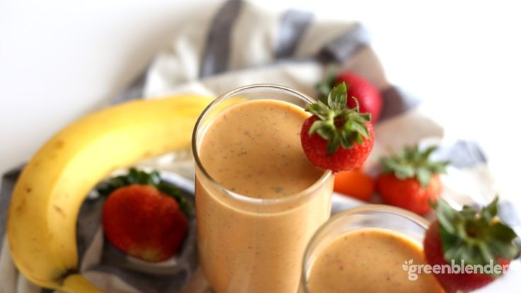 strawberry carrot creamsicle smoothie recipe