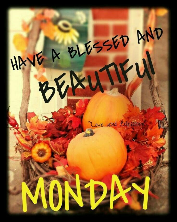 Image result for happy monday fall images